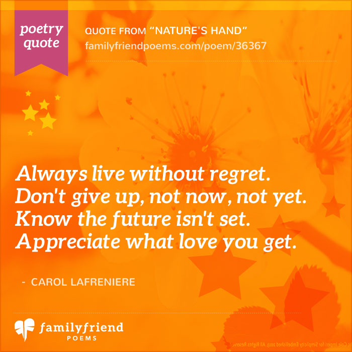Famous Poetry Quotes About Life