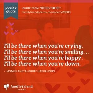 True Friend Poems