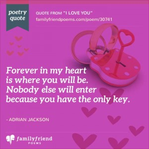 42 I Love You Poems For Him And Her Saying I Love You