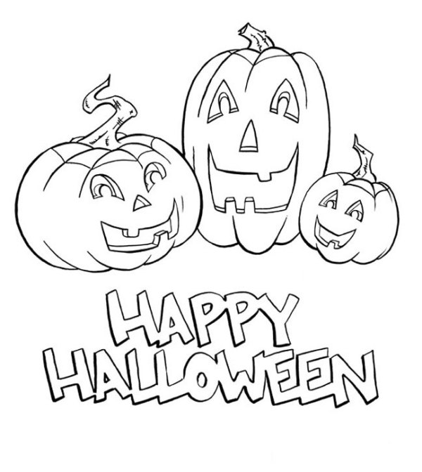 coloring halloween pages # 23