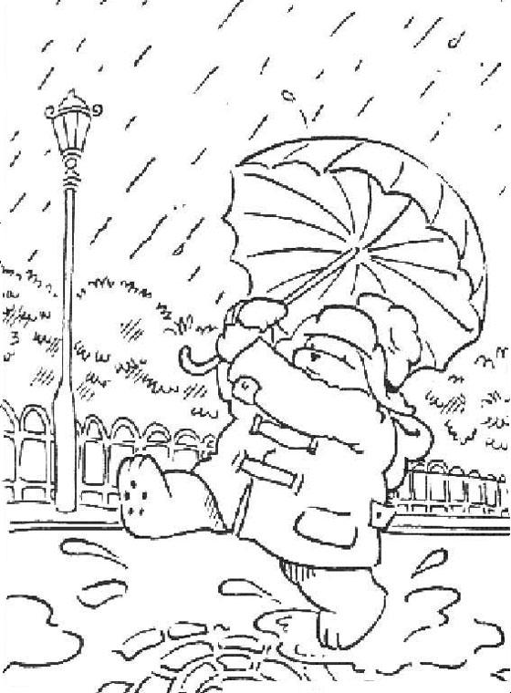 paddington bear coloring pages # 28