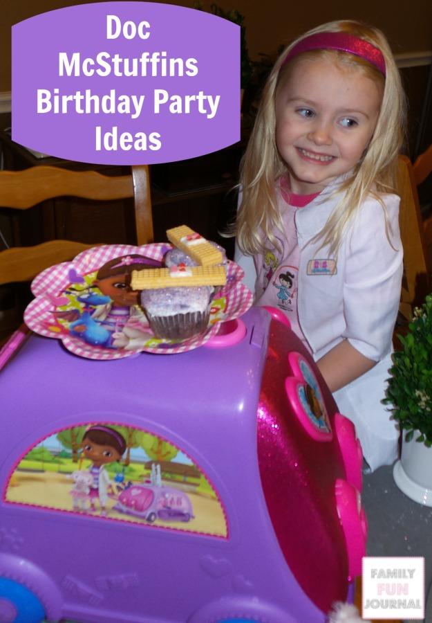 Doc McStuffins Birthday Party Ideas Family Fun Journal