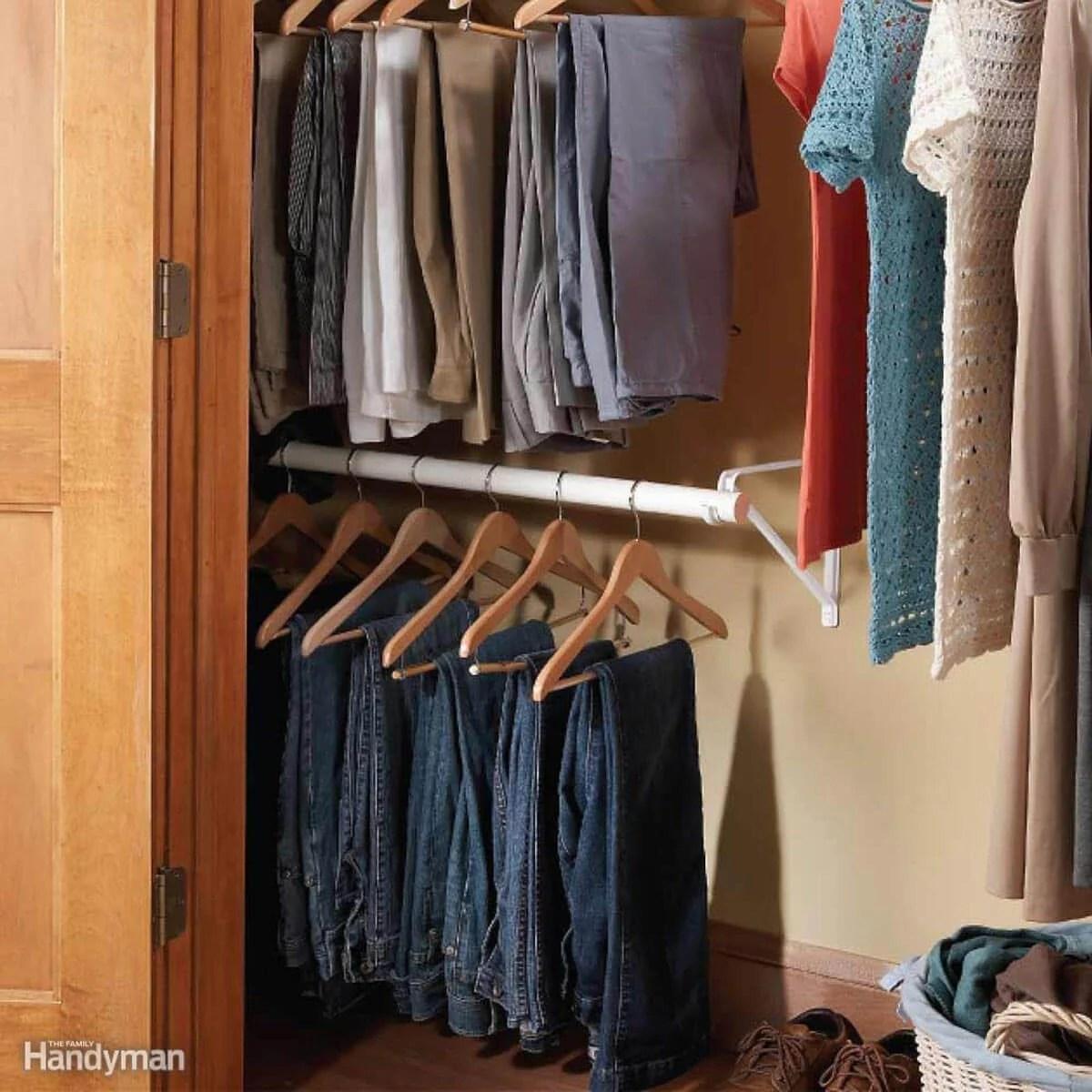 14 Awesome Closet Storage Hacks Family Handyman