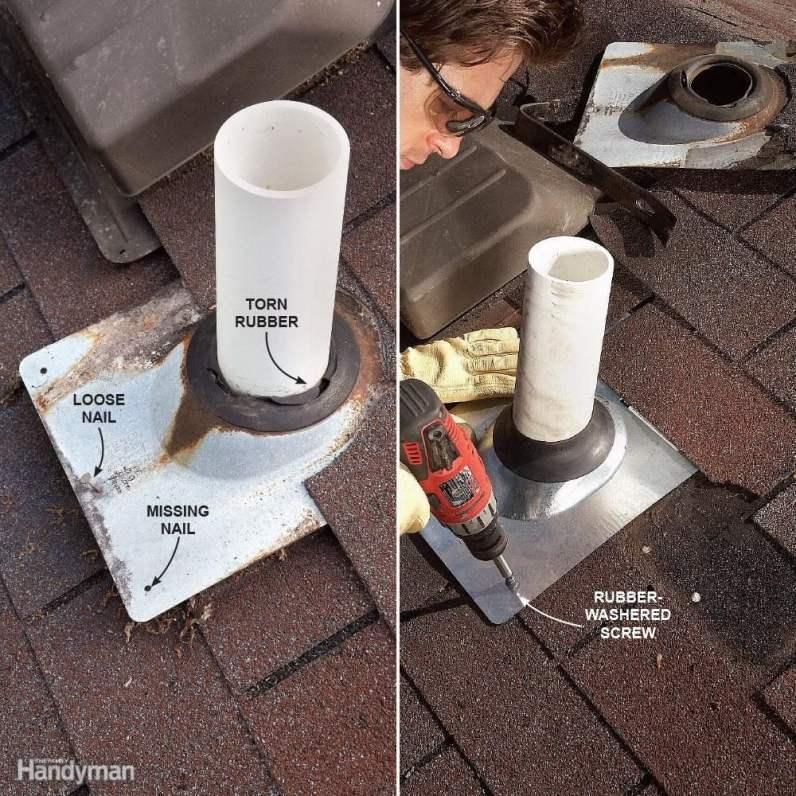 Fix Plumbing Vent Boots