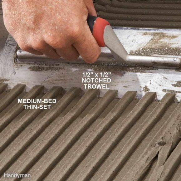 Trowel Notch Size For Mosaic Floor Tile Floor Matttroy