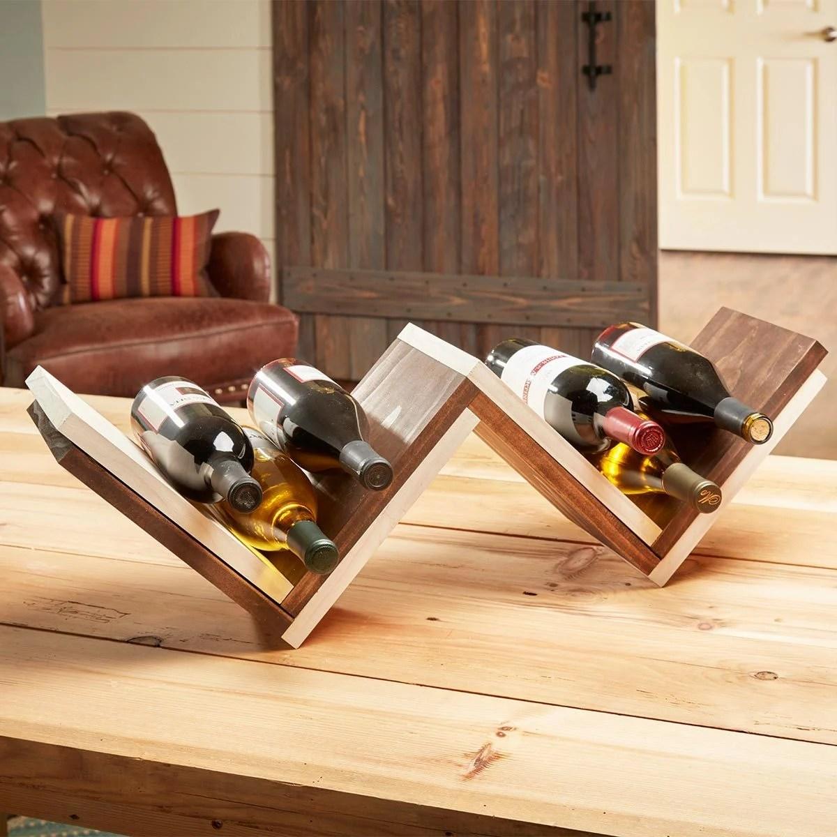23 Wine Racks And Hacks The Family Handyman