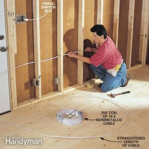 How to RoughIn Electrical Wiring | The Family Handyman