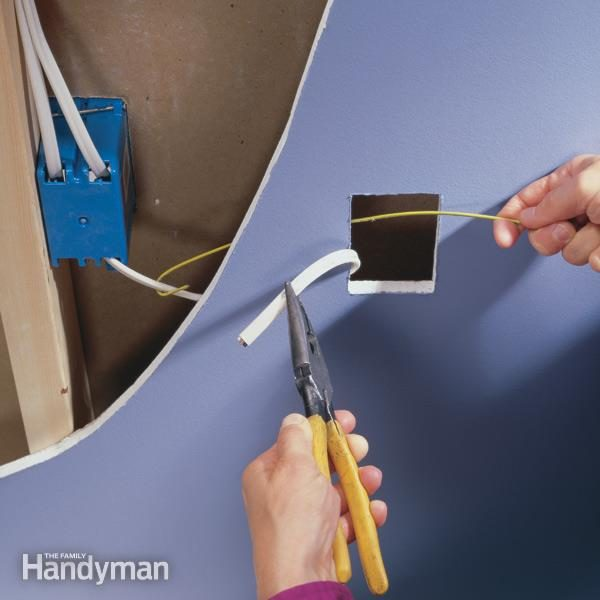 How To Wire An Outlet And Add An Electrical Outlet The