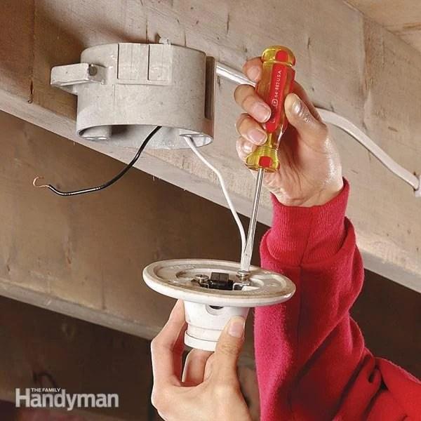 Replace Ceiling Fan Light Switch