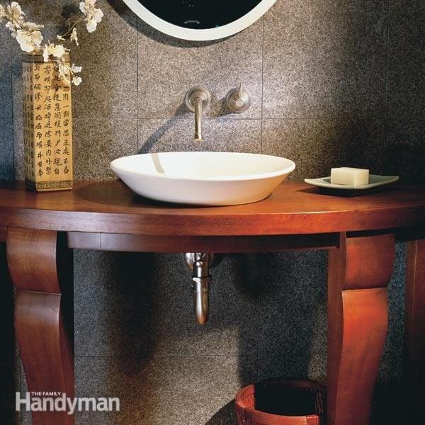 Elegant Small Bathroom The Family Handyman
