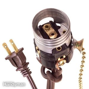 How to Wire a Light Socket | The Family Handyman