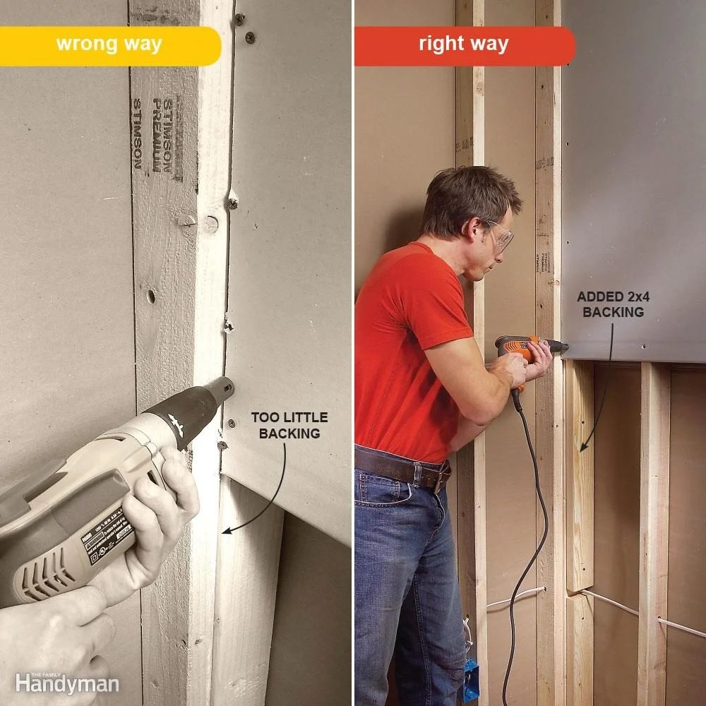 7 Drywall Installation Mistakes Youve Probably Made