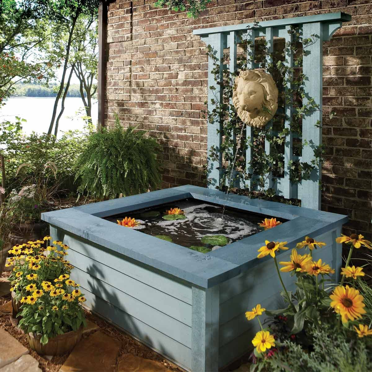 Outdoor Pond Ideas: Pond in a Box on Yard Ponds Ideas id=67029