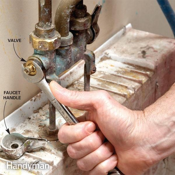 Fix A Leaking Faucet The Family Handyman