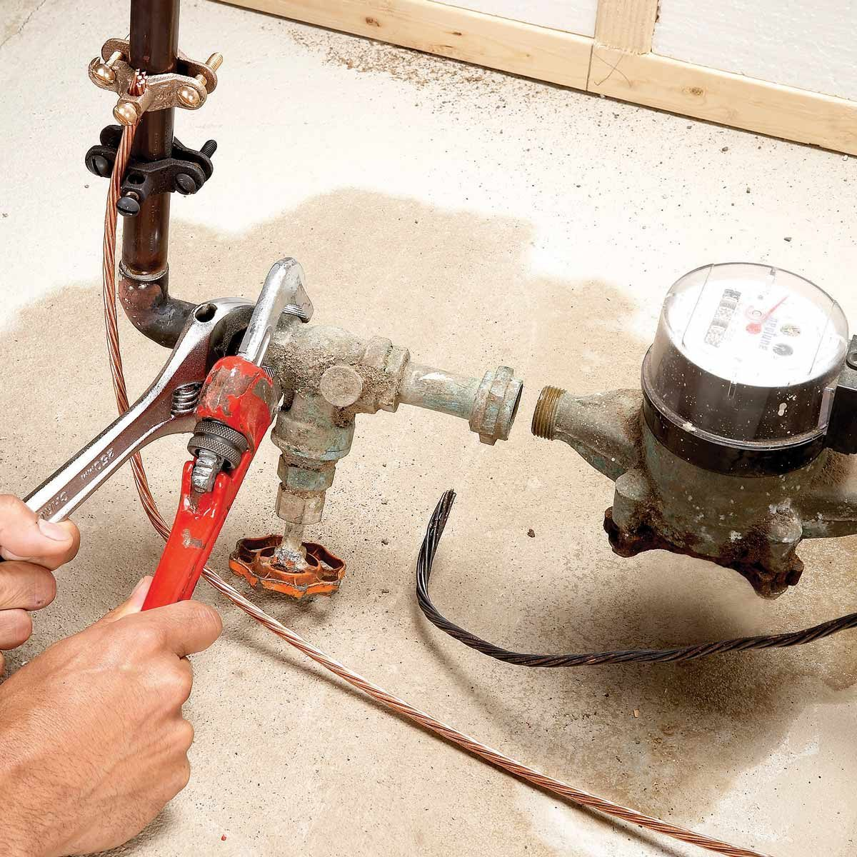 to replace the main shut off valve
