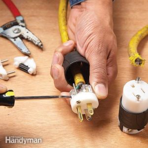 How to Repair a Cut Extension Cord   Family Handyman