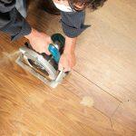 Laminate Floor Repair Diy Family Handyman