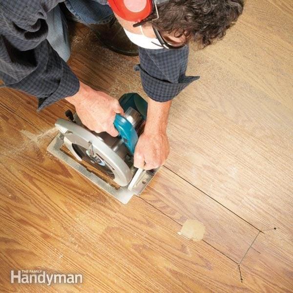 Laminate Floor Repair With Badplank Hout Ikea