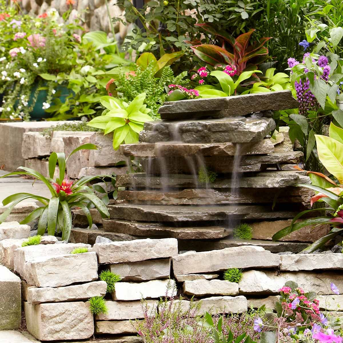 Backyard Waterfall | Family Handyman on Rock Garden Waterfall Ideas  id=21309