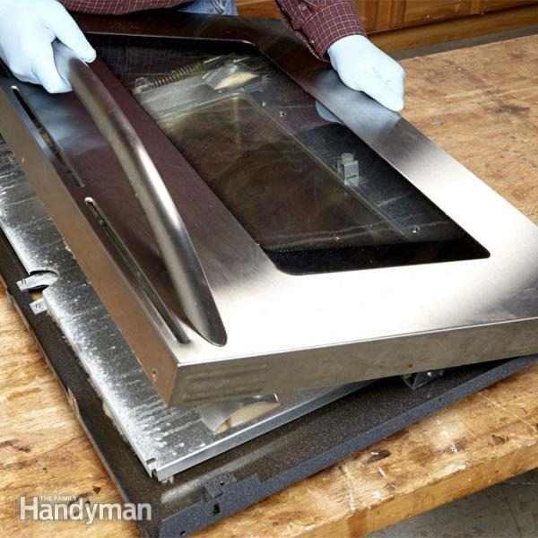 How To Clean Oven Door Glass Diy Family Handyman