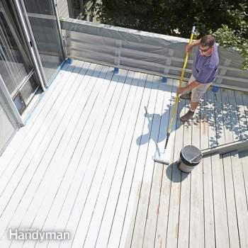 restore a deck diy family handyman