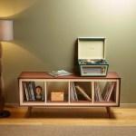 Ikea Hack Mid Century Modern Console Using Kallax Family