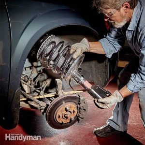 How to Replace Your Own Struts | The Family Handyman