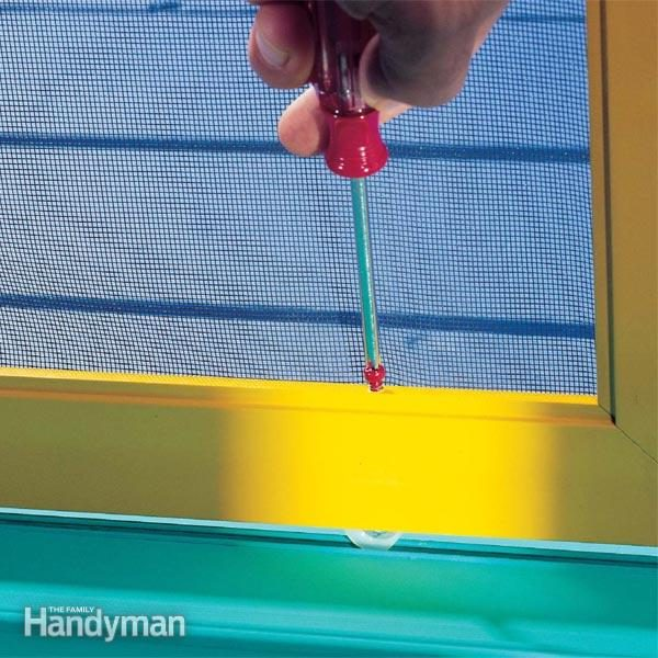 sliding screen door repair tips diy