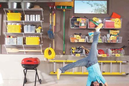 51 Brilliant Ways to Organize Your Garage   The Family Handyman Wire shelving in the garage