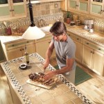 Installing Tile Countertops Ceramic Tile Kitchen Countertops Diy