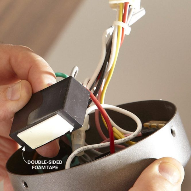 Changing Capacitor In Ceiling Fan