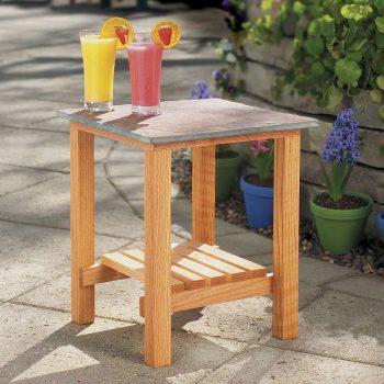 stone top patio table diy family