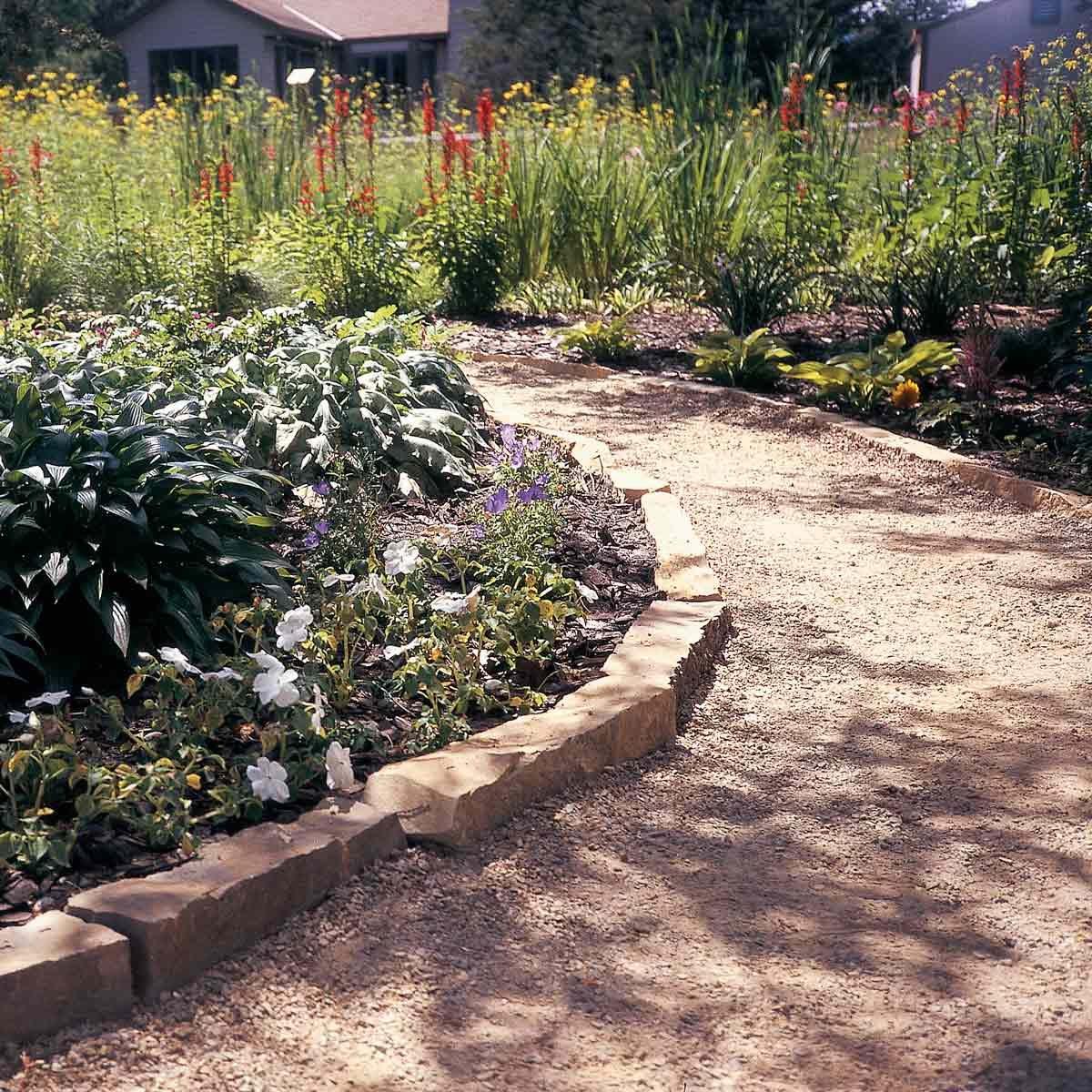 Affordable Garden Path Ideas | Family Handyman on Backyard Walkway Ideas id=71290