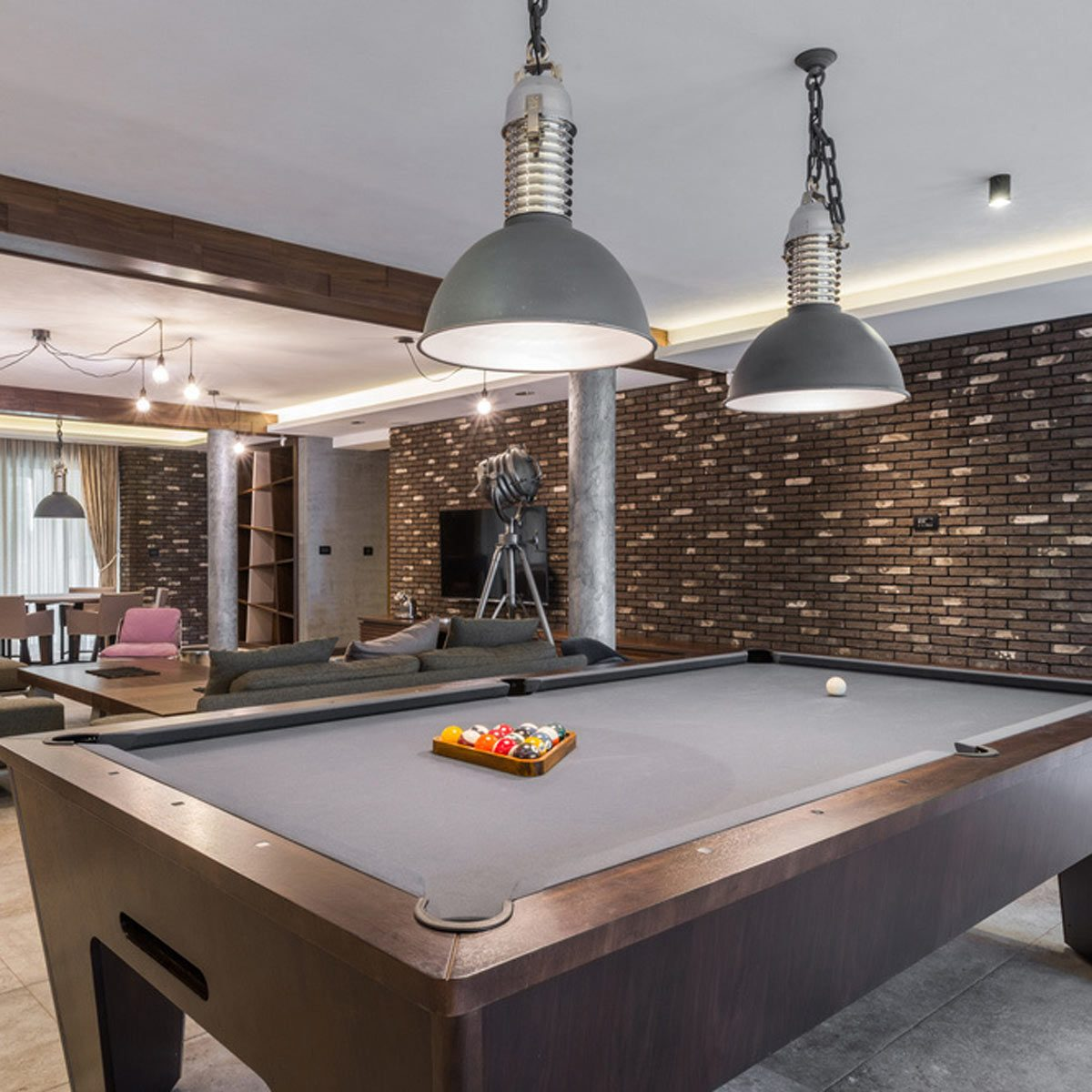 Whether you hope to have one child or six, there's no right or wrong answer when it comes to size. 25 Cool Game Room Ideas | The Family Handyman
