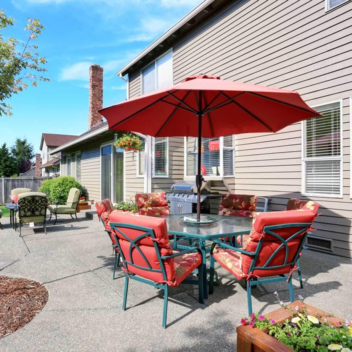 how to buy a patio umbrella family