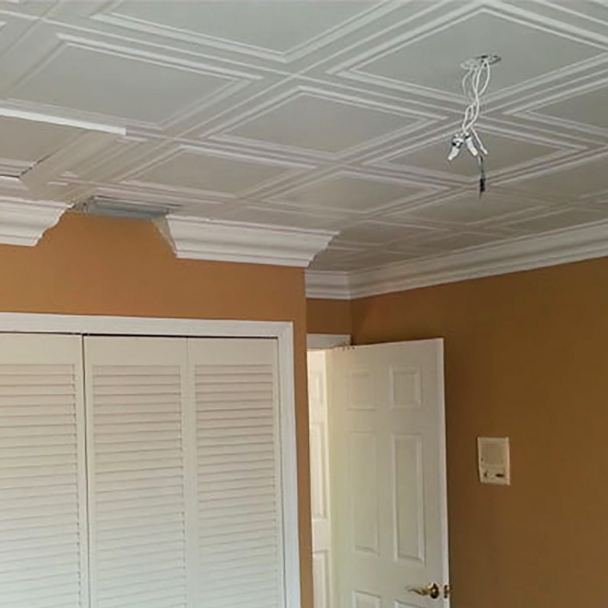 Covering Uneven Ceilings