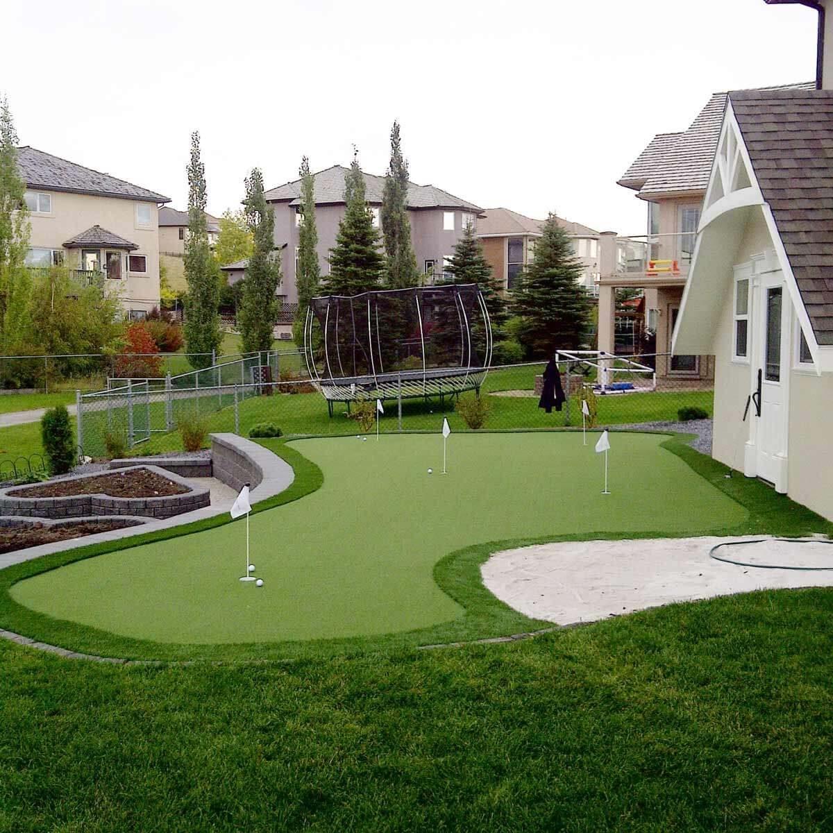 19 Crazy Cool Backyard Putting Greens — The Family Handyman on Putting Green Ideas For Backyard id=48457