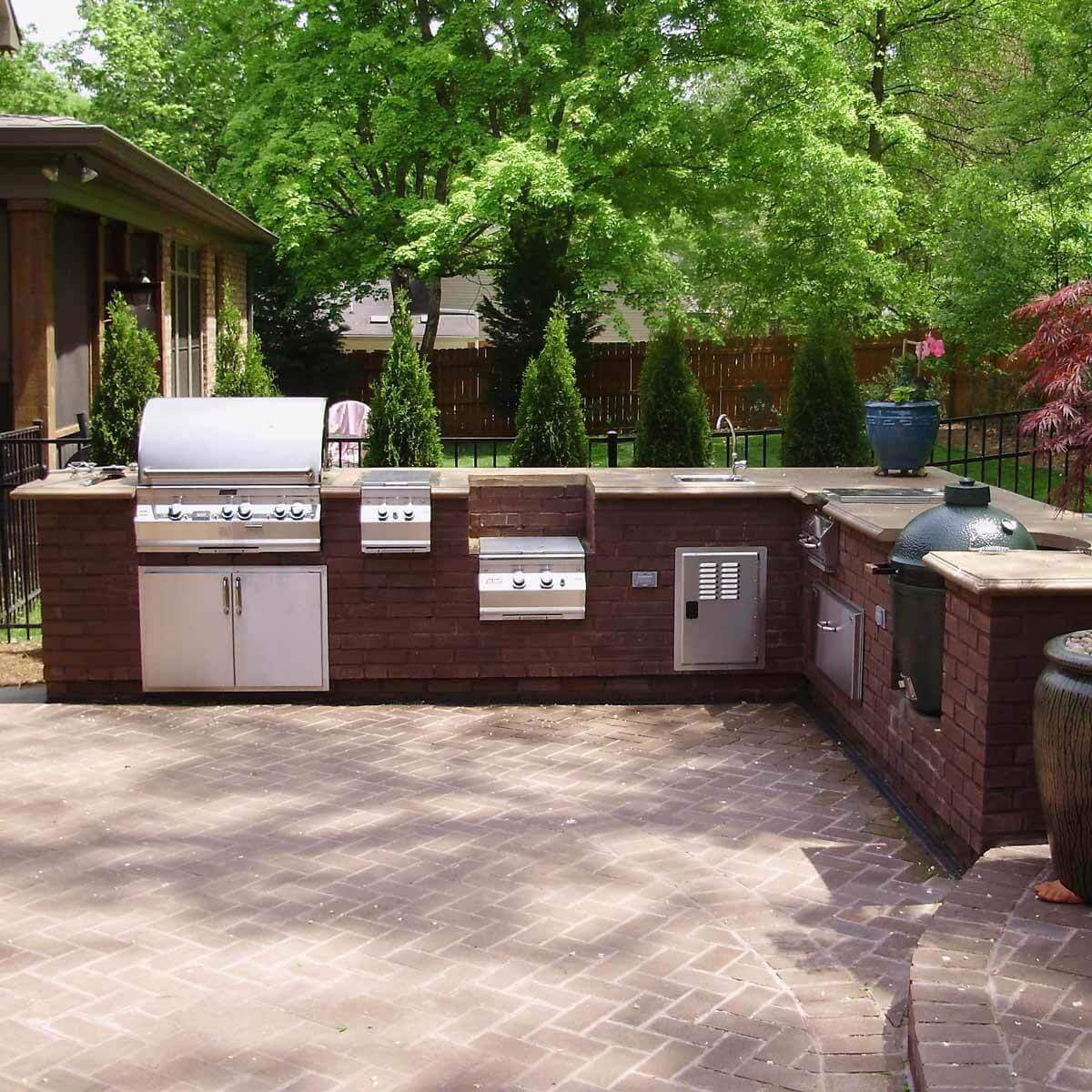 15 Perfect Patio Designs — The Family Handyman on Patio Grill Station  id=88135