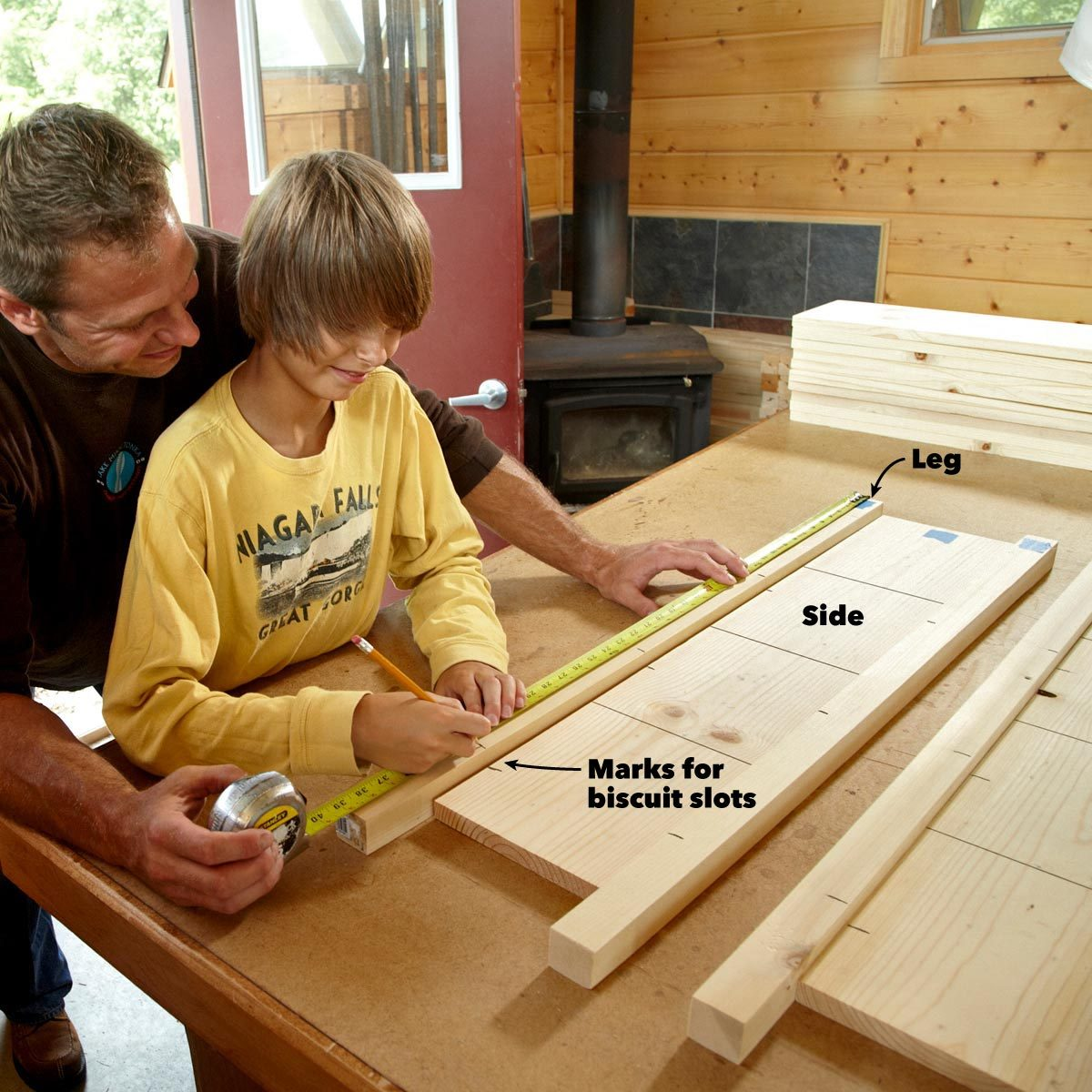 Simple Diy Bookshelf Plans The Family Handyman