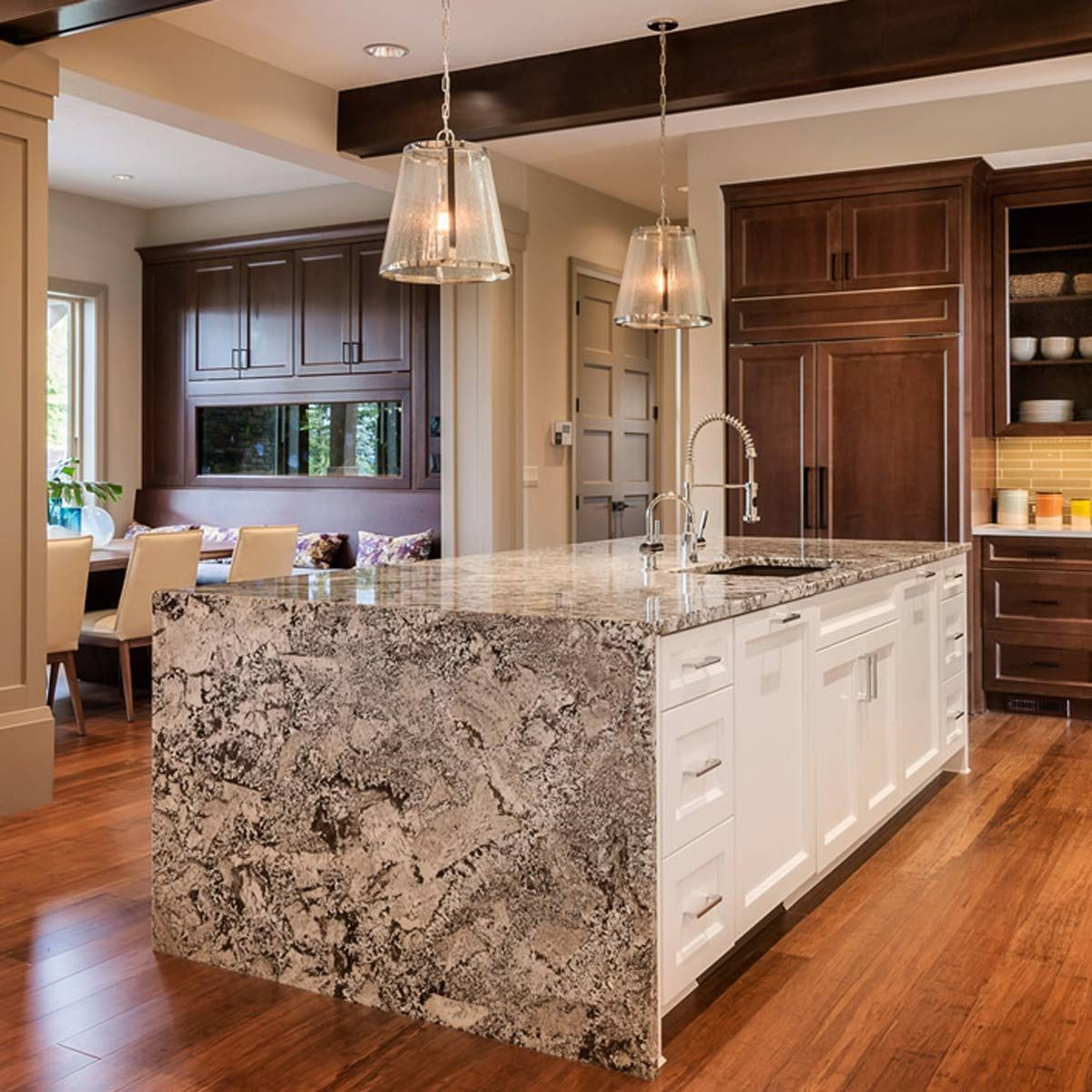 10 Kitchen Countertop Ideas People Are Doing Right Now ... on Countertop Decor  id=37354