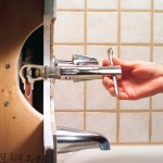 How To Fix A Leaking Bathtub Faucet Family Handyman