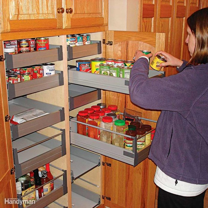 pull out cabinet organizers you can diy