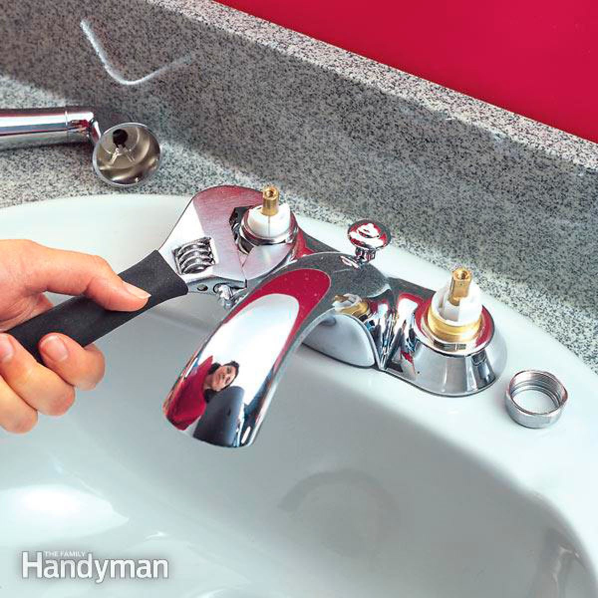 quickly fix a leaky faucet cartridge