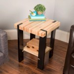 Saturday Morning Workshop How To Build A Pallet Side Table
