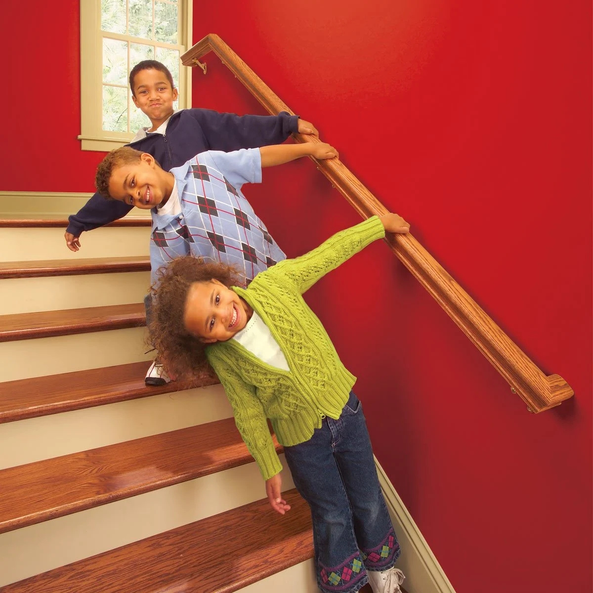 Install A New Stair Handrail | Cost To Replace Basement Stairs | Stair Case | Stair Tread | Carpet | Hardwood | Unfinished Basement