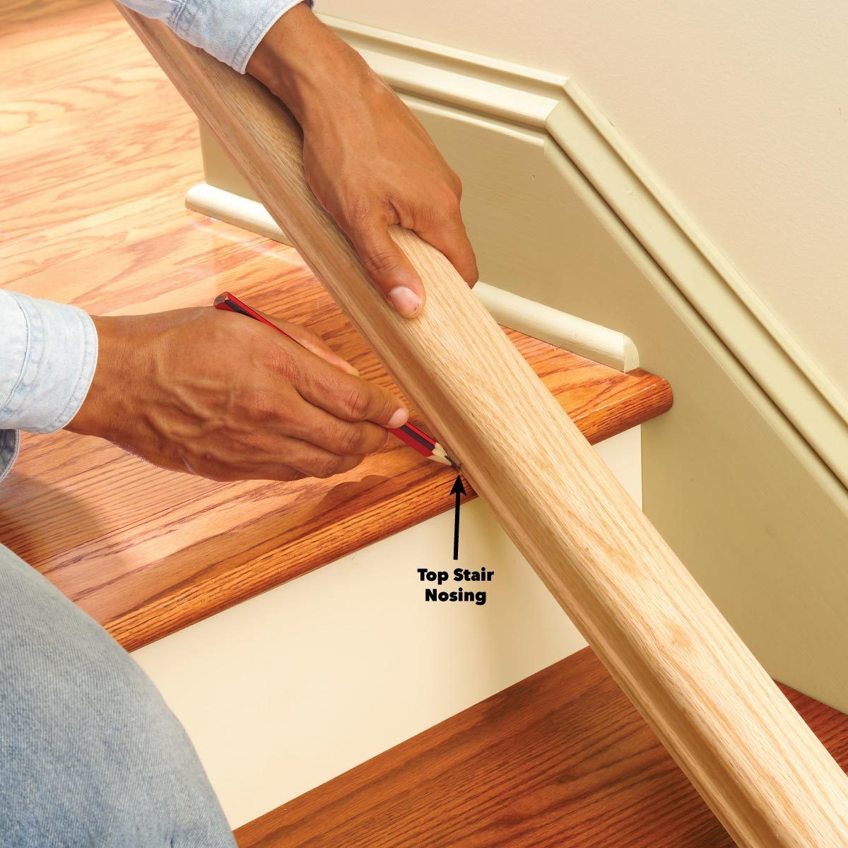 Install A New Stair Handrail | Best Wood For Stair Railing | Railing Kits | Paint | Indoor Stair | Balcony Railing Ideas | Deck Railing Designs