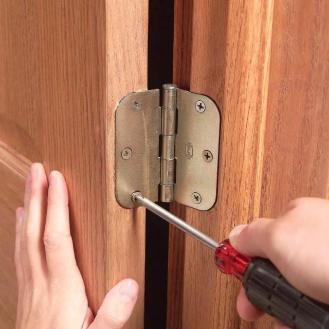 Fix Sagging or Sticking Doors (DIY)  Family Handyman