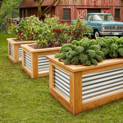 how to build raised garden beds diy