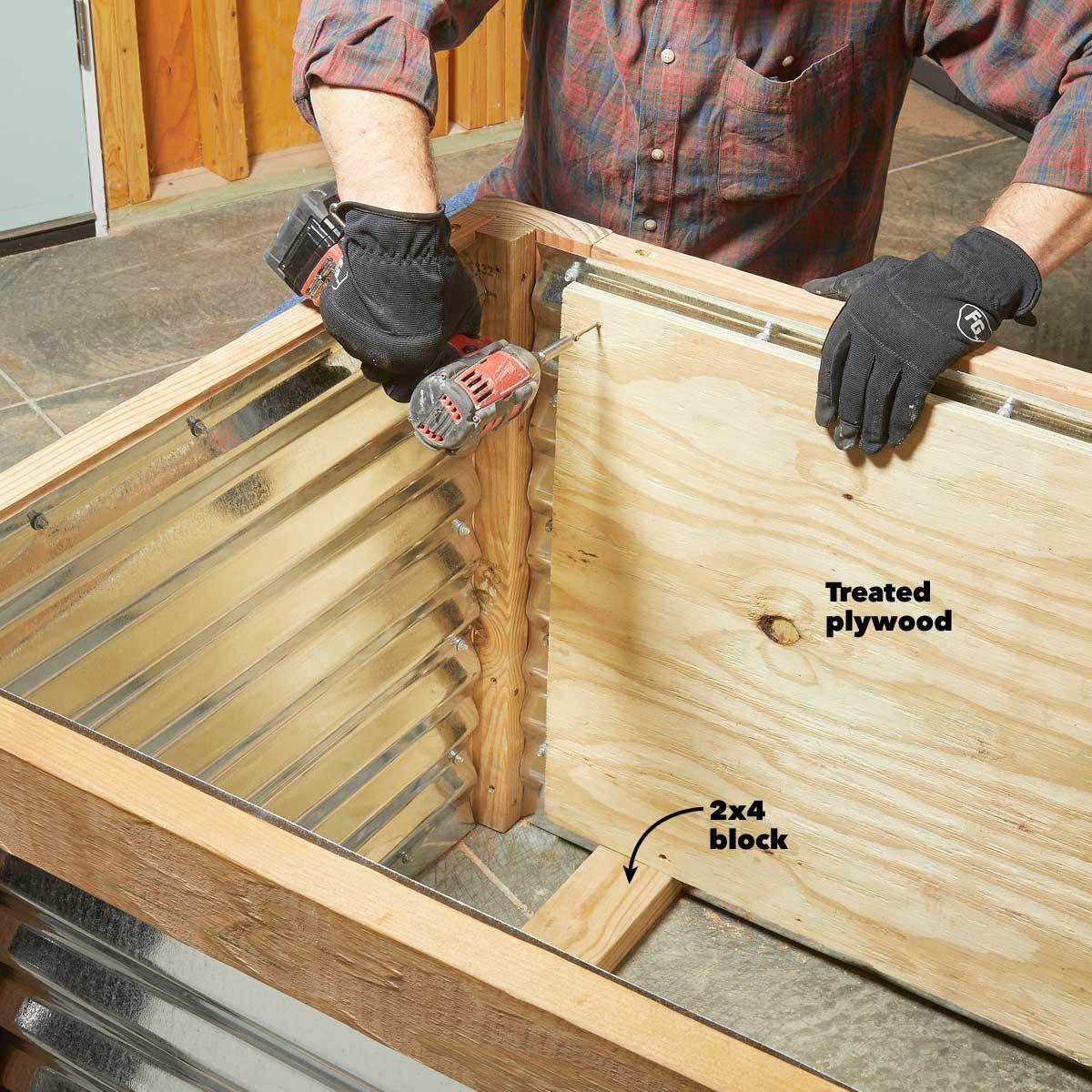 Deck Planter Box Plans