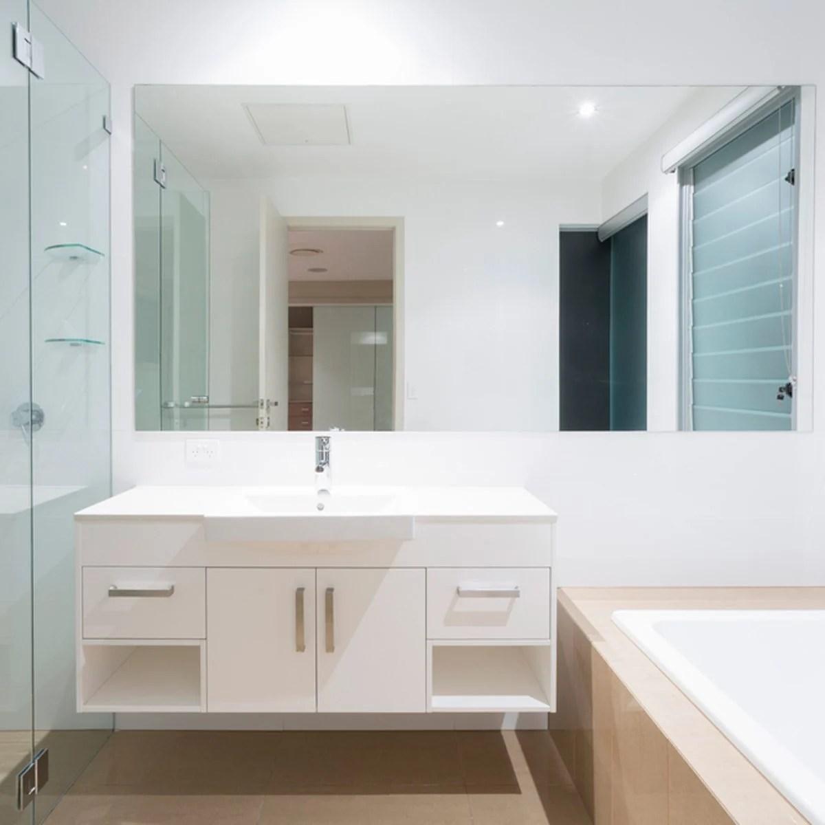 10 Genius Small Master Bathroom Ideas that WOW! | Family ... on Restroom Ideas  id=61035